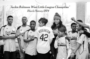 Crystal with Jackie Robinson West