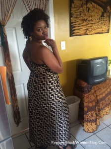 Yours truly before leaving for the Kevin Hart show. Yep, I was def one of the most fully clothed women at Essence Fest ;)