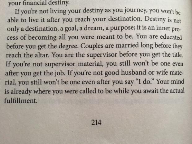 Destiny paragraph jakes